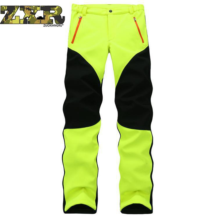 Winter Hiking Pants Fleece Softshell Tactical Pants Men Quick Dry Breathable Outdoor Trousers Women Waterproof Mountain Trekking dropshipping thin hiking pants men sports pants quick dry breathable outdoor trousers waterproof mountain trekking pant