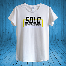 Solo A Star Wars Story 2018 T-shirt Design unisex man women fitted Print Tee Men Short Sleeve Clothing free shipping