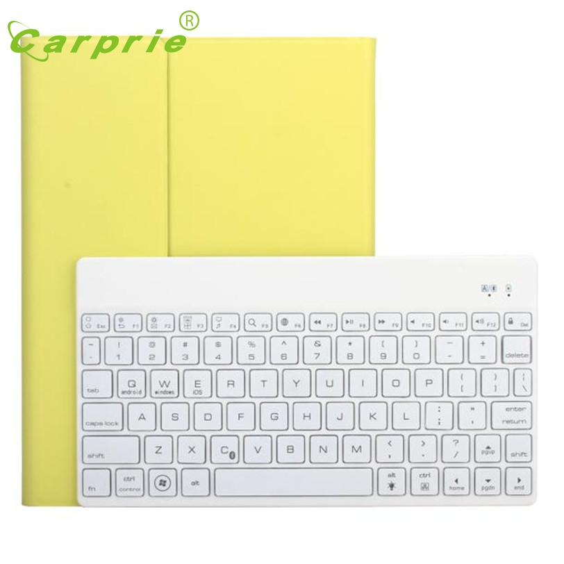 CARPRIE Ultra-thin 7 Colors Backlit Bluetooth Keyboard Case For iPad Air2/Pro9.7 Mar4 MotherLander