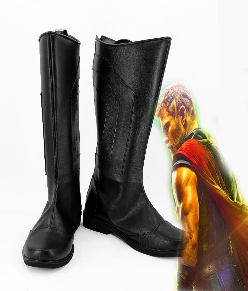 Thor 3 Cosplay Ragnarok Thor Shoes Boots Adult Men Outfit Whole Set Halloween Cosplay