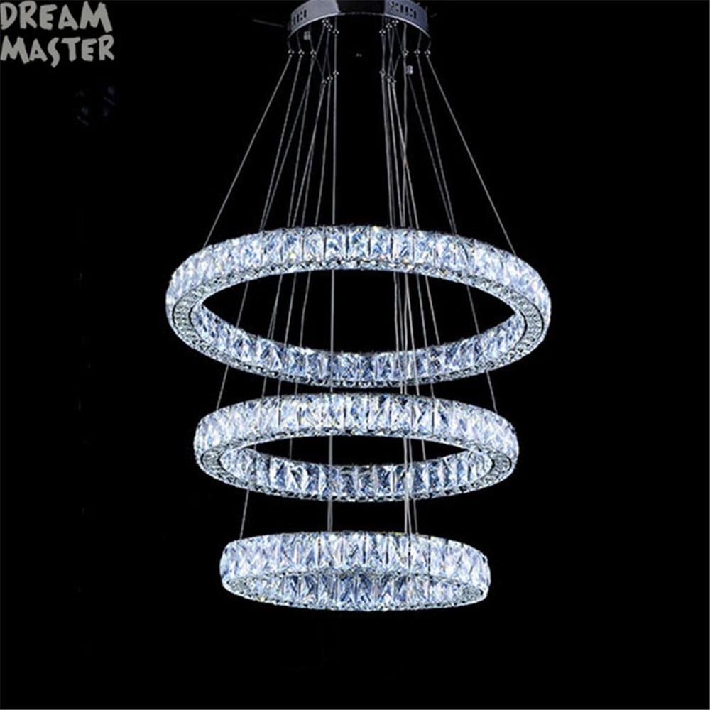 lustro di cristallo LED illuminazione lampadario a LED Villa - Illuminazione per interni