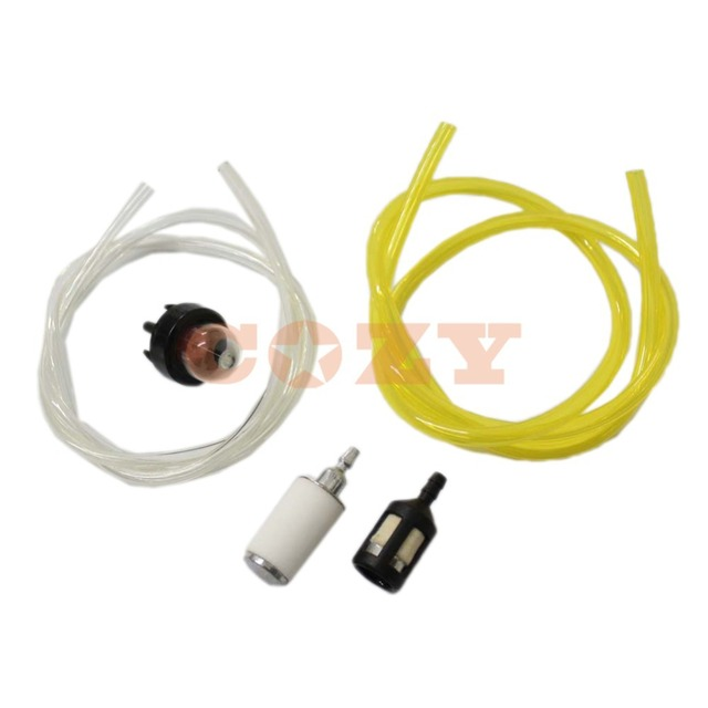 fuel filter gas line primer bulb for mcculloch chainsaw 3200 3205 3210 3214  3216