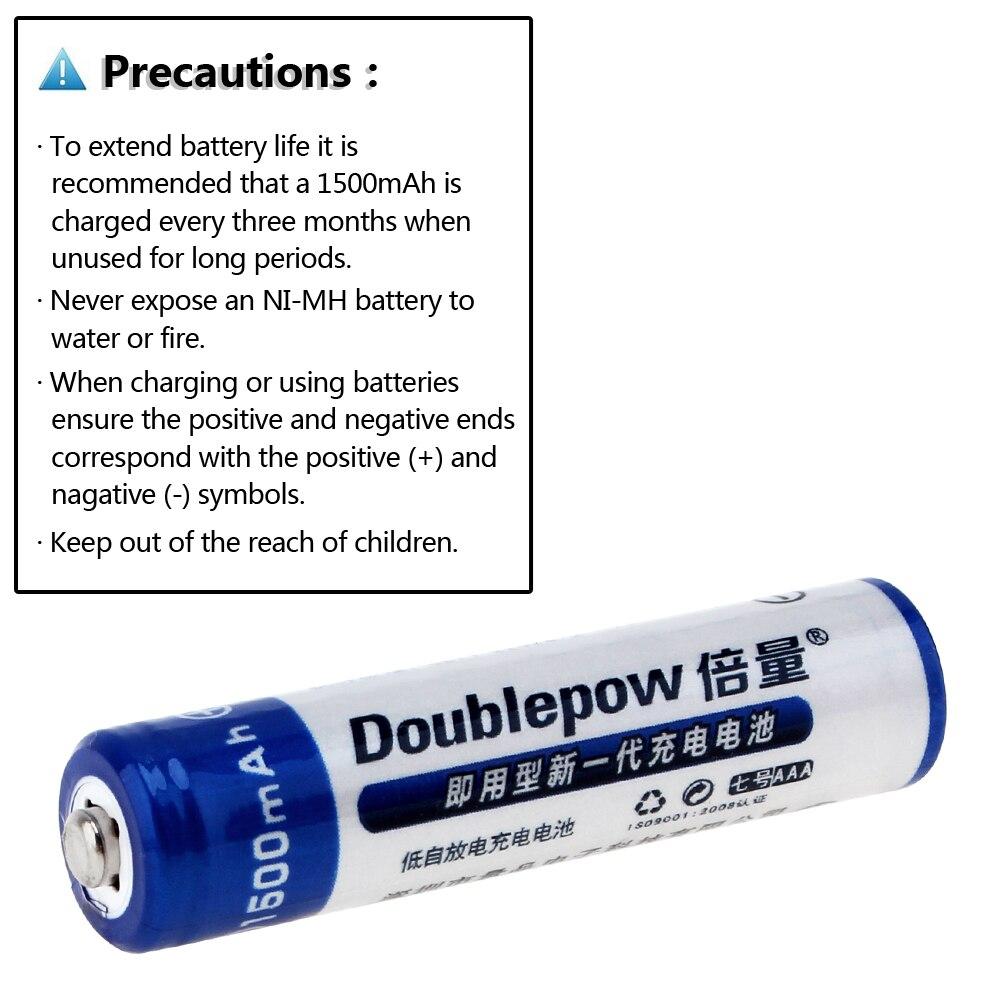 Baterias Recarregáveis bateria de 1.2 v ni-mh Capacidade Nominal : 1500mah