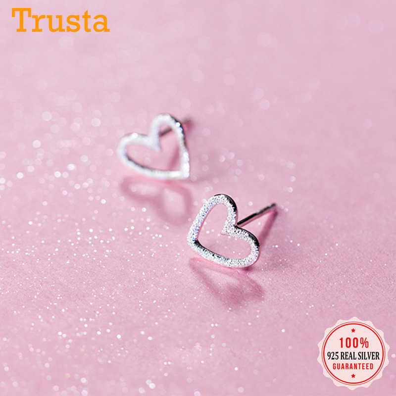 1.5g Sterling Silver 18k Rose Gold Plated Vermeil Cute Tiny Heart Ring size 6