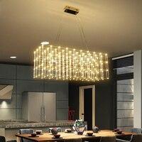Постмодерн Star светодиодный кулон Творческий коммерческий проект вилла квадратный искры шар Костюмы магазин освещения лампы освещения