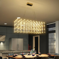 Postmodern Star LED Pendant Creative Commercial Project Villa Square Spark Ball Clothing Shop Lighting fixture lamps lighting