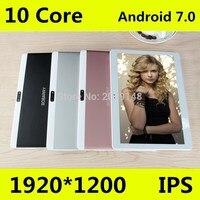 T100 оригинальный 10 4 г LTE планшет телефонный звонок 1920*1200 ips 10 Core Android 7,0 Tablet PC для детей 4 г 64 г BabyPad для детей