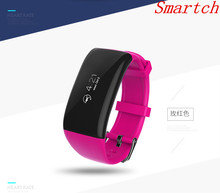 Smartch Bluetooth Smart Браслет X16 сердечного ритма Мониторы браслет Фитнес трекер удаленной камеры для IOS Android PK Xiaomi Mi Ray-Ban