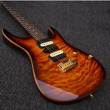 New + Factory Arrival Su hr Moden Sunburst Deluxe Electric Guitars China Guitarras Free Shipping Guitare