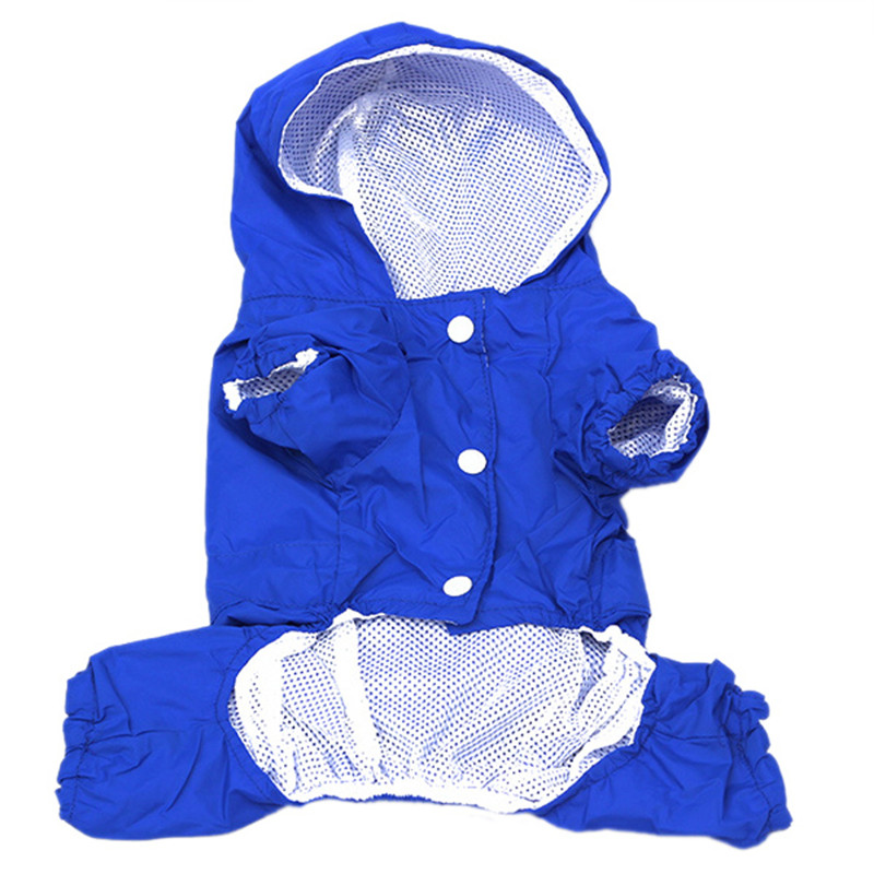 Pet Dog Rain Coat Clothes Dog Puppy Casual Waterproof Jacket Costumes Plus Size XXL Rain Coat For Dog Clothes Rain