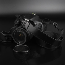 PU кожаный ремешок для камеры шеи переноска на плече для Nikon D7500 D5600 D5500 D5300 D7200 D90 D810 D850 D3400 D3300 D5200 D750 DF