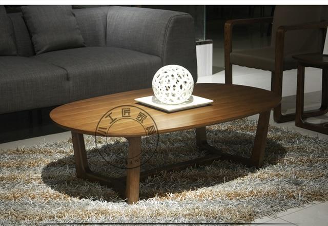 Minimalistisch interieur salontafel minotti calder salontafel