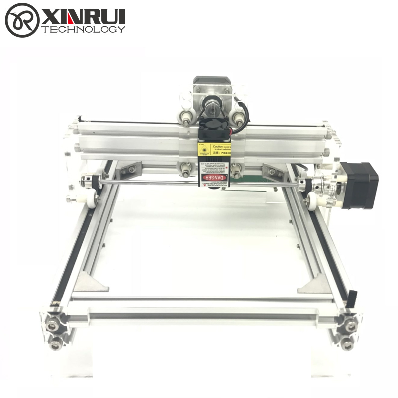 GRBL DIY 500mw Blue Violet Laser Engraving Machine Mini Laser Engraver IC Marking Printer Carving Size 17*20CM