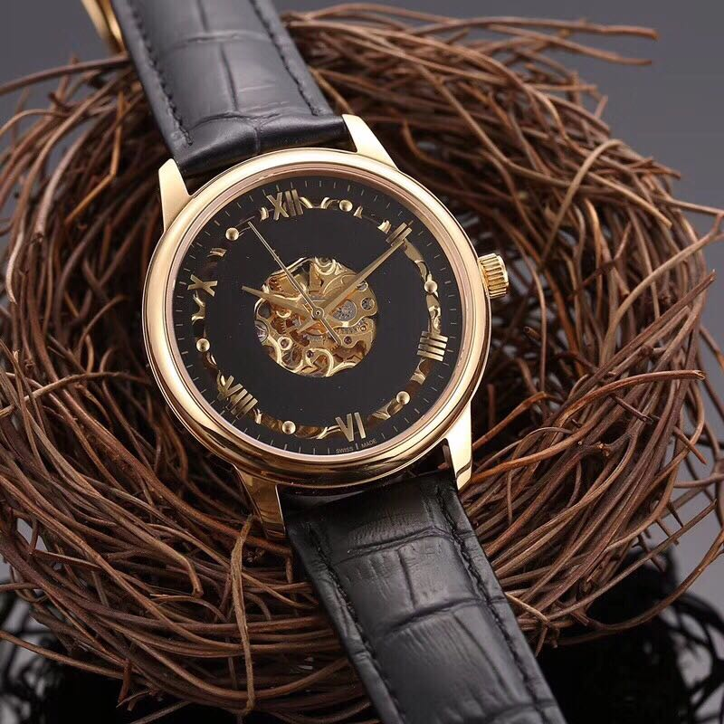 лучшая цена WC08182 Mens Watches Top Brand Runway Luxury European Design Automatic Mechanical Watch