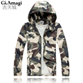 2016 New Arrival Camo Men's Jackets Camouflage Coats Male Casual Slim Turn-down Collar Jacket Men Outerdoor Overcoat M-XXXL