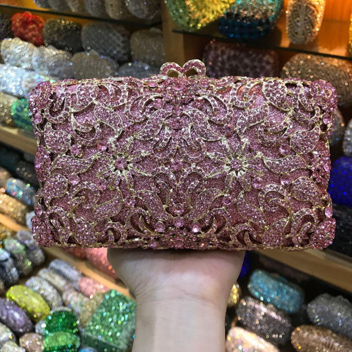 Christmas gift items bag box Luxury Designer green Diamond Crystal Clutch Purse Party Wedding Evening Bag Ladies Chain Wristlets картридж для принтера canon 8792b001 pfi 207 y