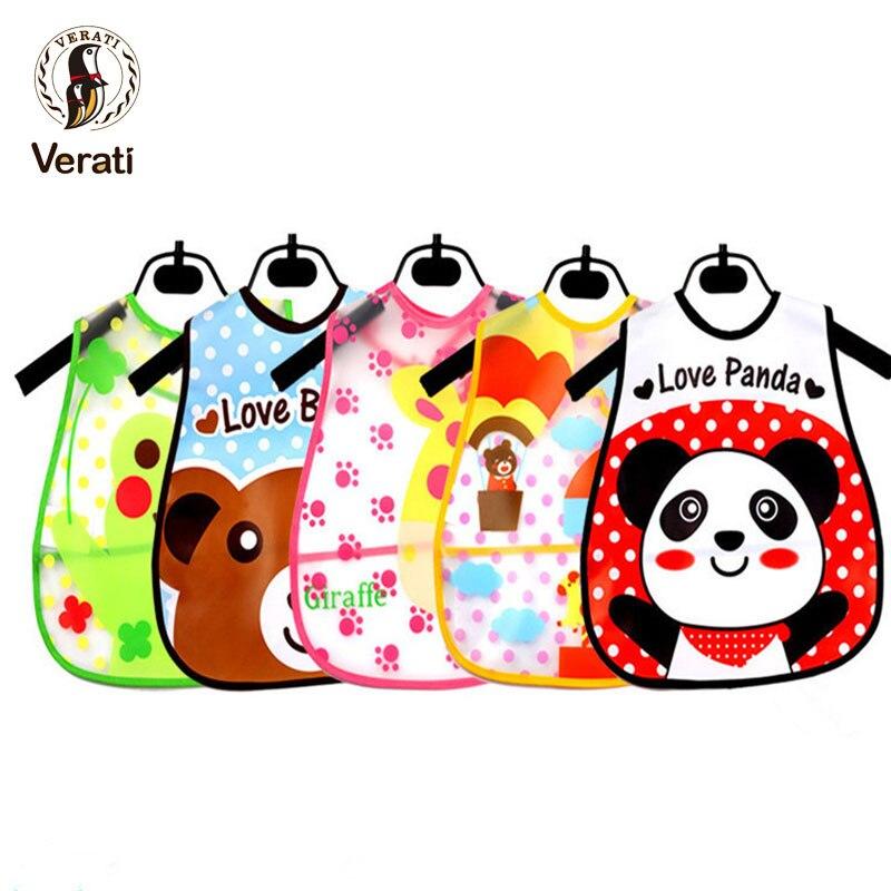 VERATI Baby Saliva Towel Baby Bibs Waterproof Baby Bib Triangle Bib Baby Print Accessories Newborn Bib Children Burp Cloth V090