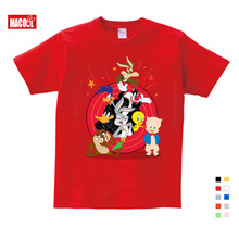 Kids Cartoon Mickey Childrens T Shirts Mouse Short Sleeve T-shirt Donald Baby/Boy/Girl t shirt summer O-Neck tee 2-15Y
