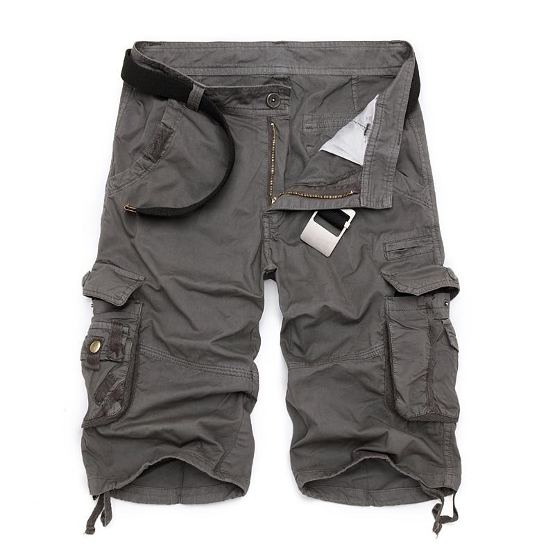 Militär Last Shorts Män Sommar Camouflage Ren Cotton Brand Kläder - Herrkläder - Foto 6