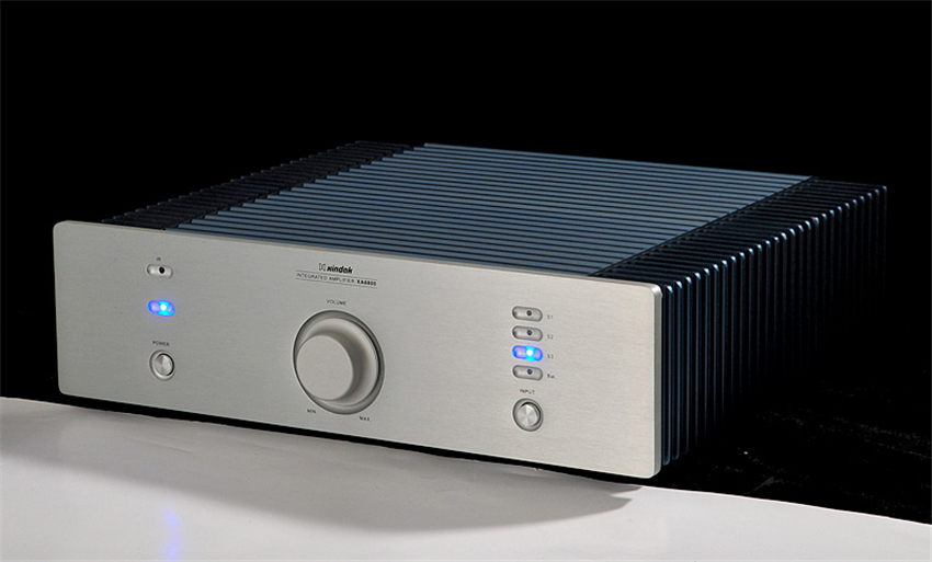 QUEENWAY HIFI AUDIO XA6800(08) Integrated Amplifier High-End Power Amplifier AMP Input: 3*RCA, 1*XLR 2*80W (8 ohm) queenway airs digital car cd player change to home audio hifi professional amplifie hifi car home amp b
