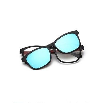 28c306c073 Gafas de sol hombres Unisex Retro TR90 gafas de sol lente polarizada  Vintage gafas de sol para hombres mujeres 2201