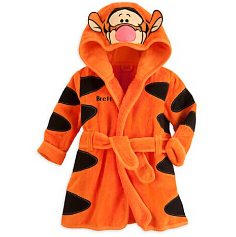 Nightwear Korean clothes at home Tigger pajamas anime