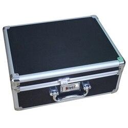 Ящик для инструментов алюминиевый сплав ящик для хранения Чехол Инструменты запираемый чемодан портативный ящик для хранения Bin путешеств...