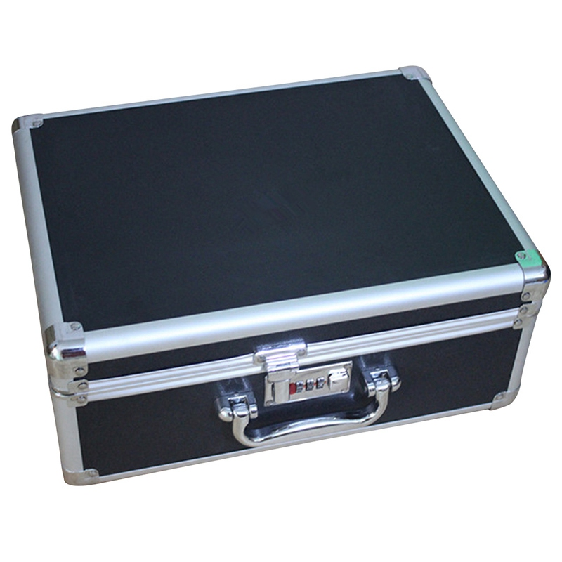 Tool Box Aluminium Alloy Storage Box Case Tools Lockable Suitcase Portable Storage Box Bin Travel
