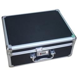 Lockable Aluminium Storage Box Alloy Case Tools Suitcase Portable Storage Box Bin Travel Luggage Organizer Case Repair Tool Box