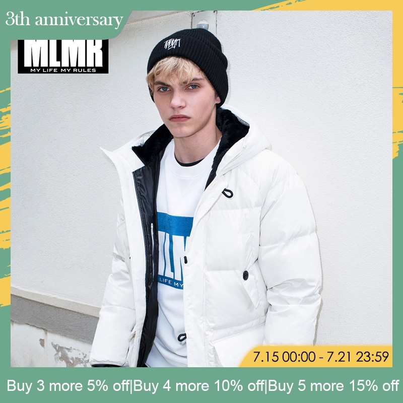 MLMR 2019 New men mid- long down jacket winter coat Thick warm   parka   | 218312504