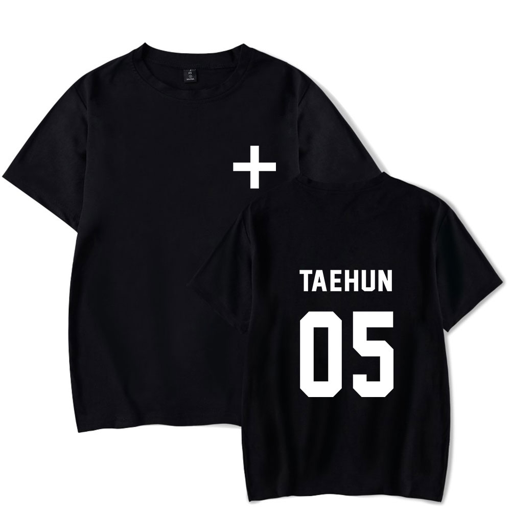ef3a87089fa1 Summer Men Clothing 2019 Tomorrow X Together T Shirts Hot Sale Short  Sleeves Txt Tshirt Kpop