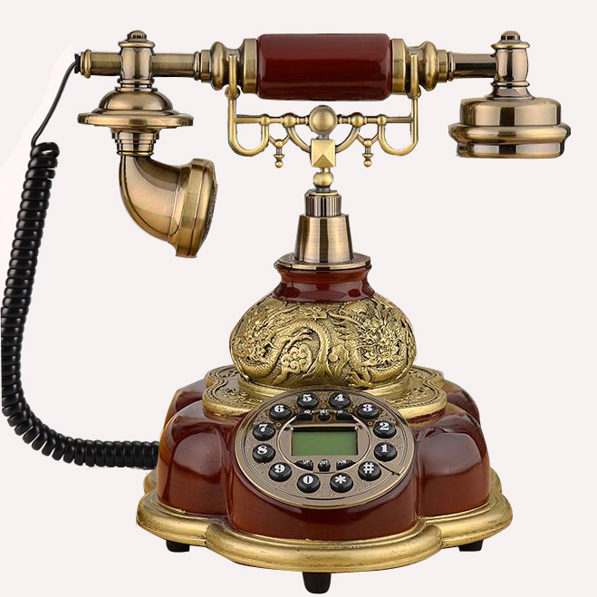 Antique GSM 900/1800MHz Support SIM Card Fixed Phone