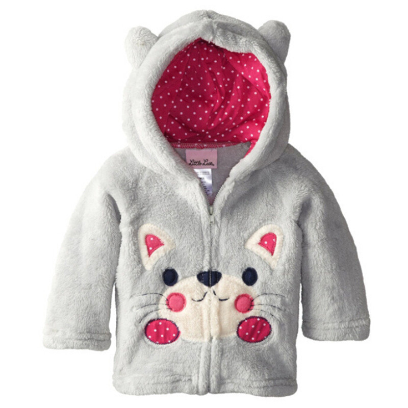 1610a7335 Infant Coats 2018 Autumn Winter Baby Boys Girls Jackets Panda ...