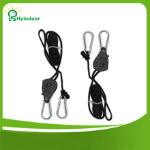 "Купить с кэшбэком 1pack  1/8"" Rope Ratchet Grow Light Reflector Hangers+free shipping"