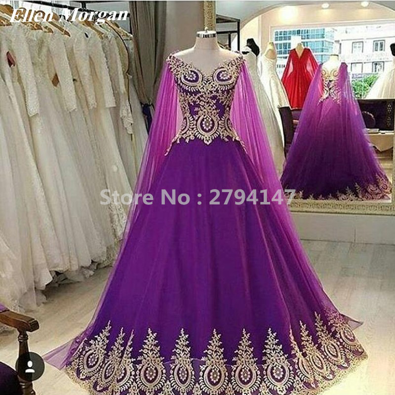 Purple Prom Dresses 2019 Black Girls