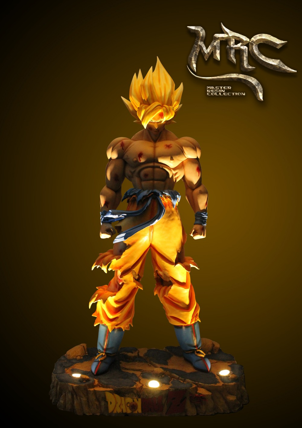 MODEL FANS sold out Dragon Ball 1/1 MRC 230cm Super saiyan