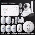Kerui g18 sistema de alarme sem fio ios android iphone app controle super fino painel tft touch kit de alarme contra roubo de segurança