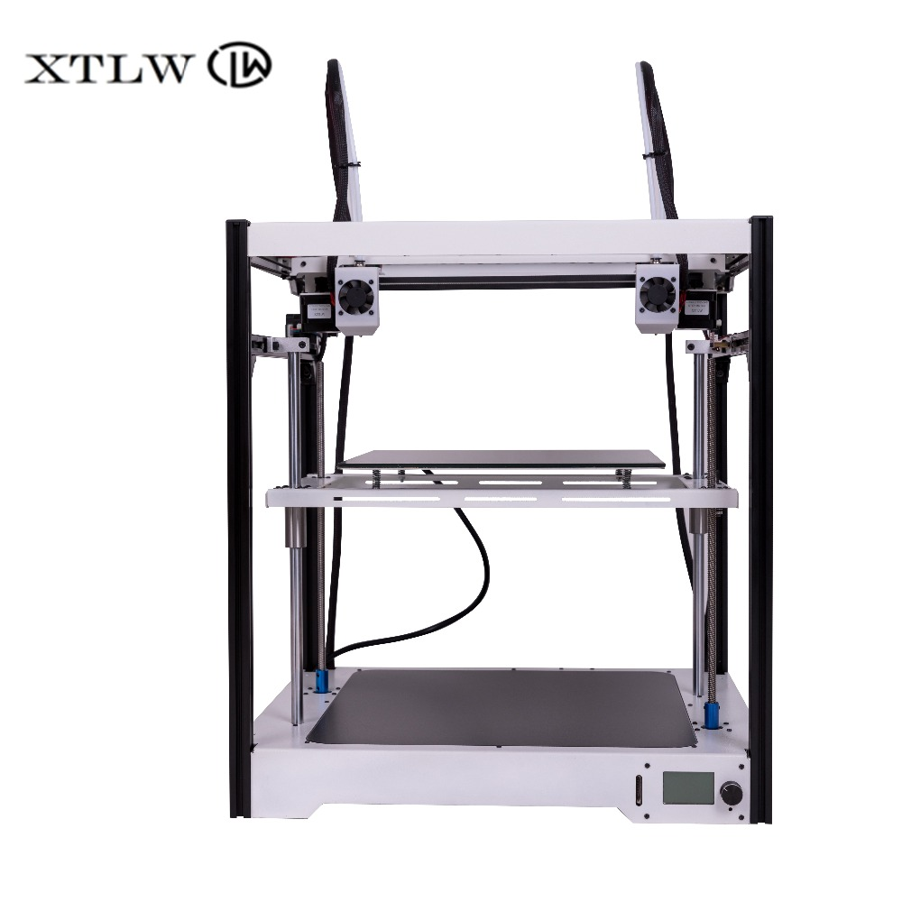 Newest Dual Extruder 3D Printer Independent Dual Extruder