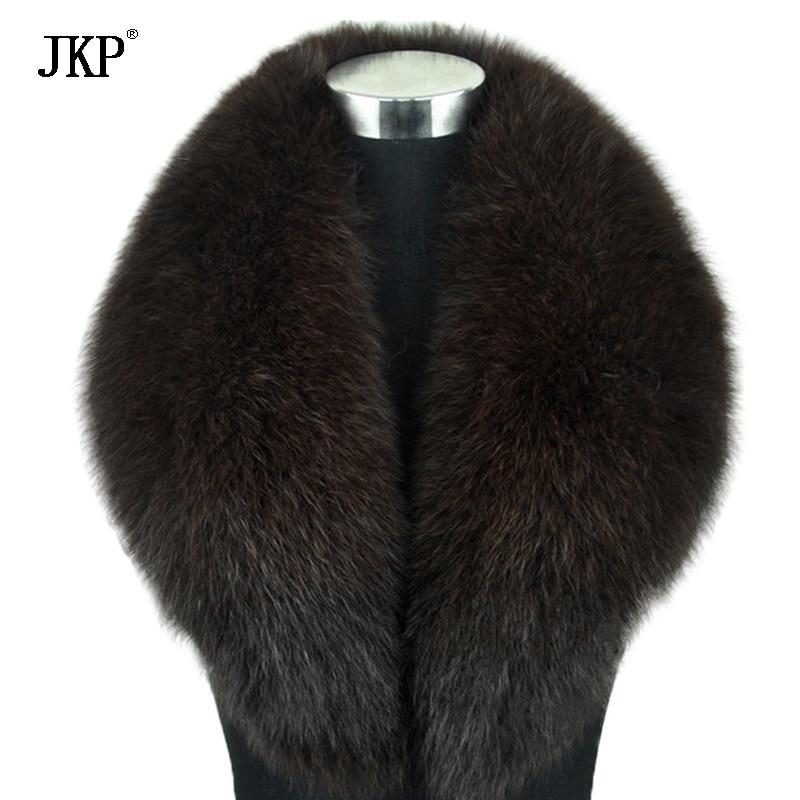 Zimske ženske stvarne krznene ovratnice od lisice, krznene kapice - Pribor za odjeću - Foto 6