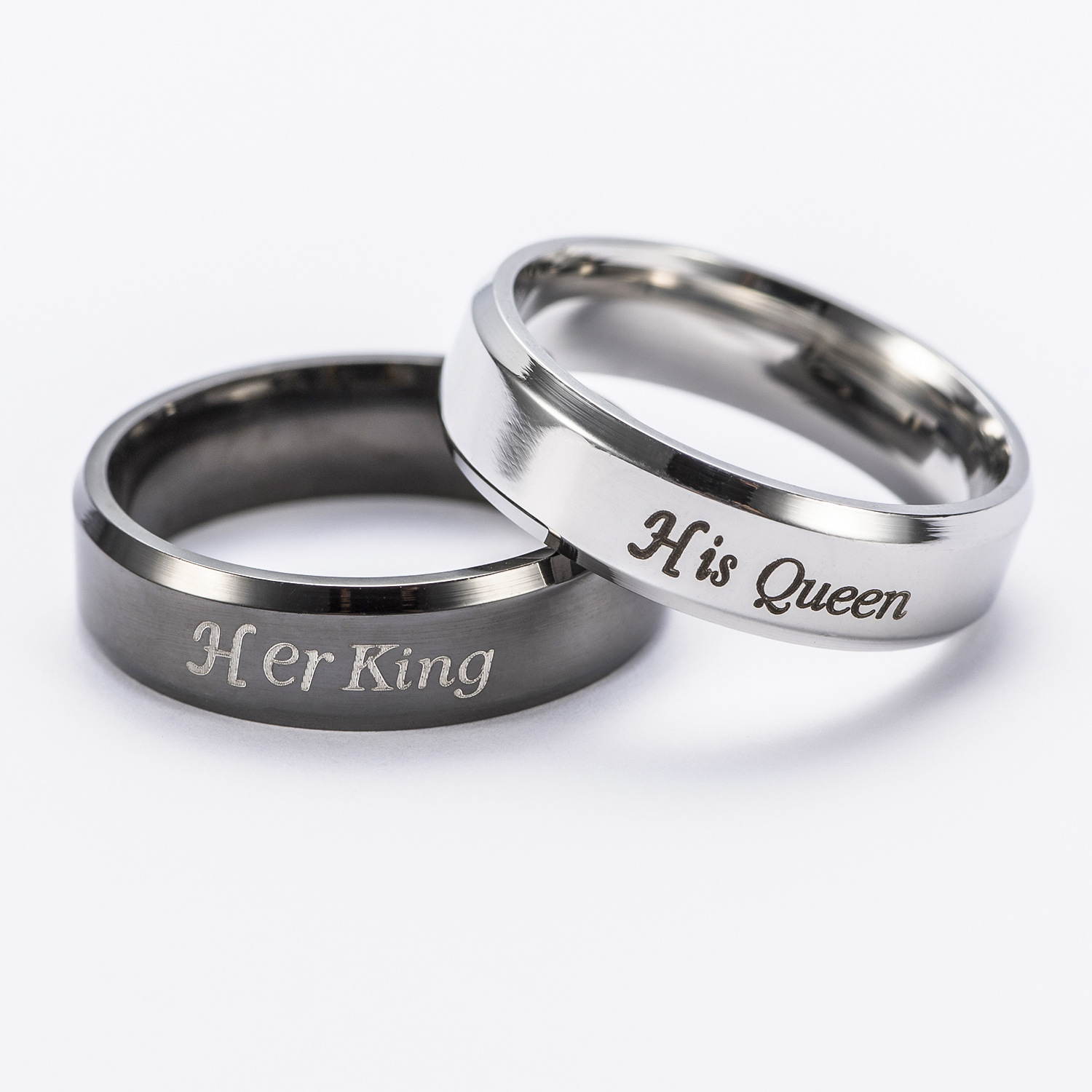 online cheap his queen her king ring aliexpress alibaba