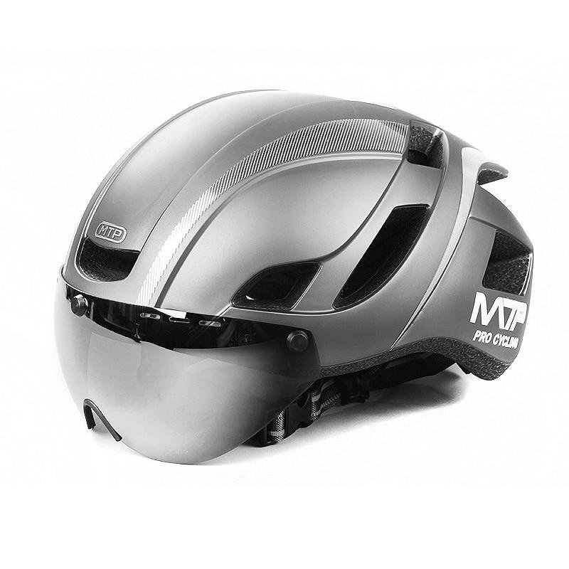 Mountainpeak Magnetic Suction Bicycle Helmet And Helmet Lens Integrated In Mountainous Highway Safety Helmet Equipment mountainpeak new spring