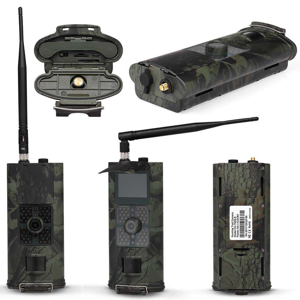 HC-700M 16MP 2/3g SMS охотничья камера наружная камера для наблюдения в дикой природе фото ловушки ПИР инфракрасная камера ночного видения Дикая камера