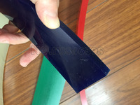 Free Shipping !Blue 50mm*9mm*1000mm!!! Screen Printing Flat Squeegee Rubber Blade_85A Durometer