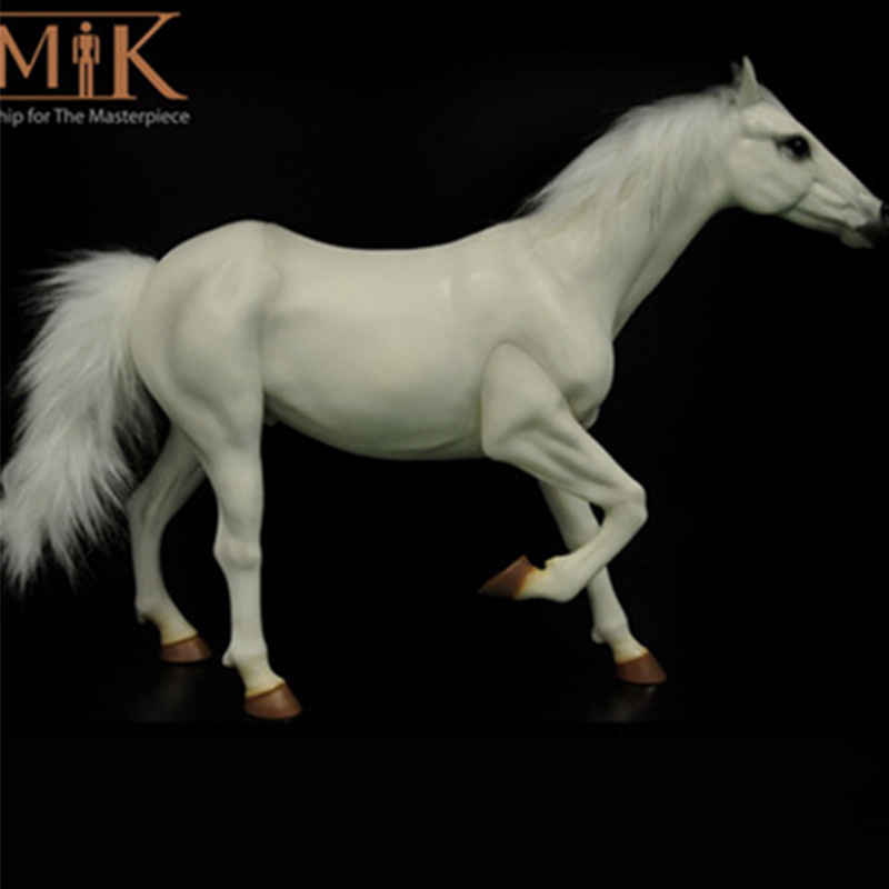 KUMIK 1/6 échelle guerre cheval blanc modèle AC-6 adapté pour 12 pouces soldat ZCTOYS/TTL/Phicen figurine corps poupées
