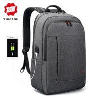 Tigernu Anti thief USB bagpack 15.6 to 17inch laptop backpack for Women Men school Bag Female Male Travel Mochila Ramadan Gift