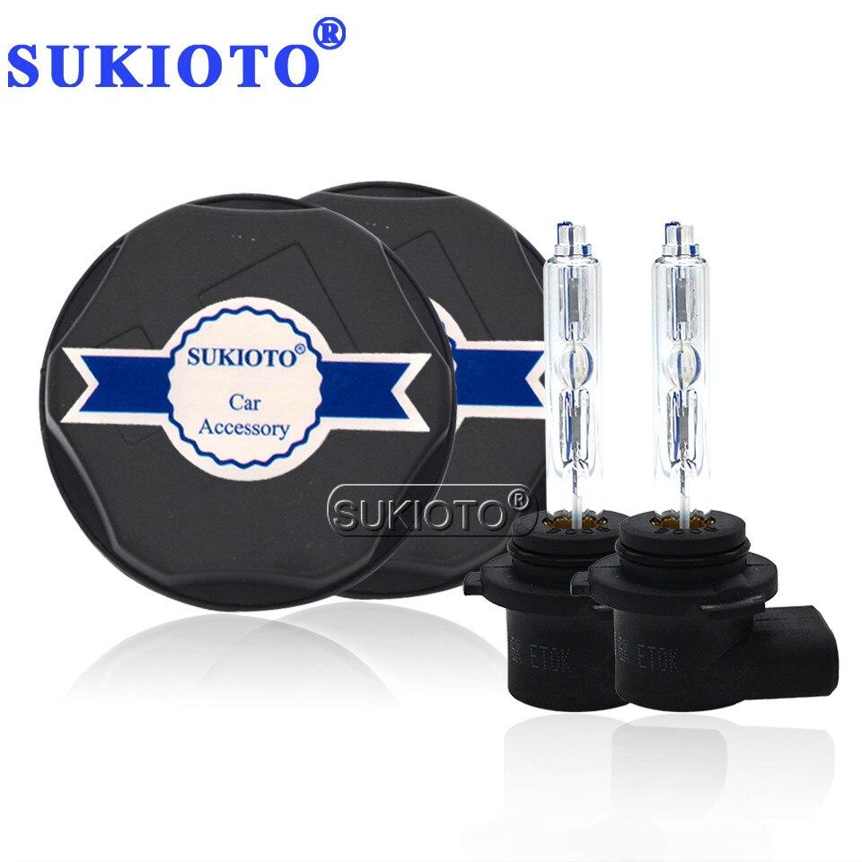 SUKIOTO spécial Xenon 9005 HB3 6000 K 55 W HID Kit xénon tout en un avec couvercle anti-poussière pour KX croix voiture phare ampoule voiture style hid