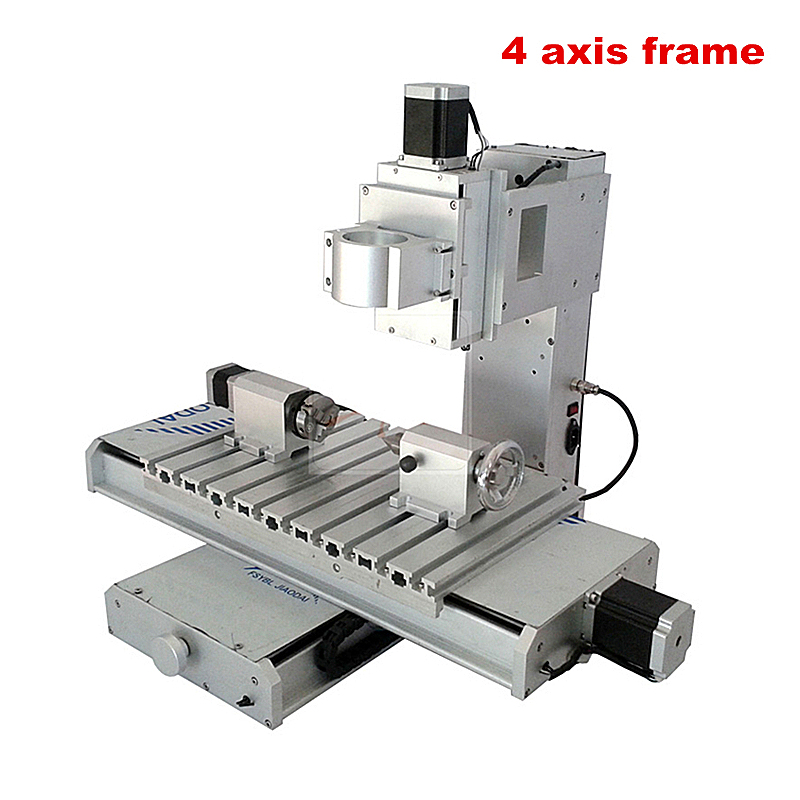 Vertical CNC frame 3040 4axis column type Engraving machine for DIY milling  tools machine tool
