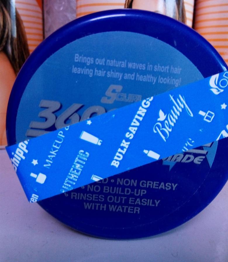 光沢の s カール 360 スタイル波制御ポマード  グループ上の 美容 & 健康 からの マッサージ & リラクゼーション の中 2
