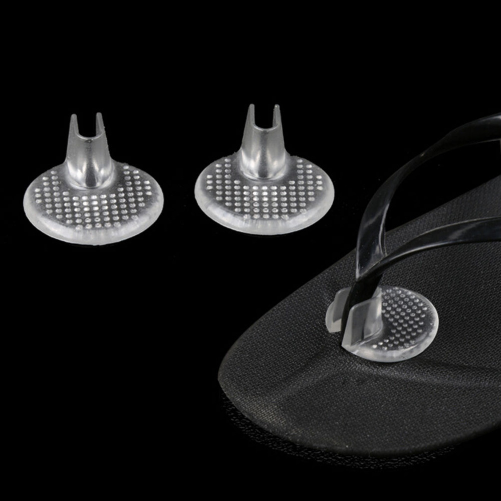 1 Pair Silicone Gel Shoe Insole Inserts Pad Cushion Heel Grips Liner Foot Care
