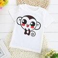 2017 Summer New Children'S Short-Sleeved Character T-Shirt Korean Children Cotton Round Neck T-Shirt